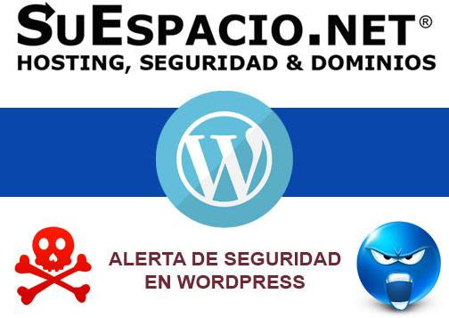 Reporte sobre alertas de seguridad y vulnerabilidades en Wordpress